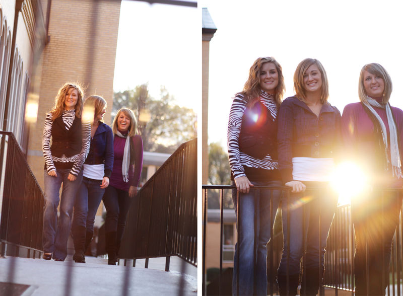 Sisters sun